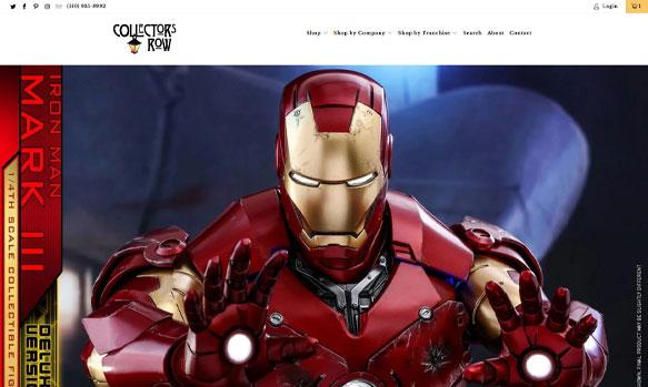 Collectors Row website